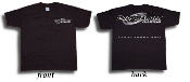 "ATI MASBSW-L Black with Silver ""ProCharger"" logo T-Shirt"