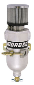 "Moroso 85473 Oil Breather Tank 3/8"" NPT Brute Speed recommended for additional breathing for forced induction!"