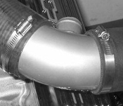 "ATI ATS48I-003 BBC 3"" Blower to Hat Tube w 1.5"" Surge Fitting"