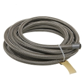 Fragola 602010 PTFE Lined, Braided Stainless Steel, -10 AN 20 ft