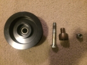 TI SB Ford Renegade Idler Pulley Idler Shaft & Bolt