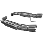"Kooks 11516200 15+ Mustang GT 5.0L OEM to 3"" Axle Back Exhaust w/Polished Tips"
