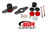 BMR MM007 - 15+ Mustang Motor Mount Kit, Polyurethane Bushings