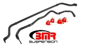 BMR SB049 16+ Camaro Sway Bar Kit With Bushings, Front And Rear, Hollow, Non Adjustable