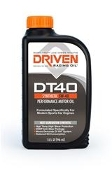Joe Gibbs Driven DT40 high performance motor oil delivers robust anti-wear protection for your high revving sports car!