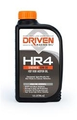 This Joe Gibbs Driven HR-4 high performance motor oil uses the same oil additive technology developed for the U.S. Military for storing and shipping their combat equipment.