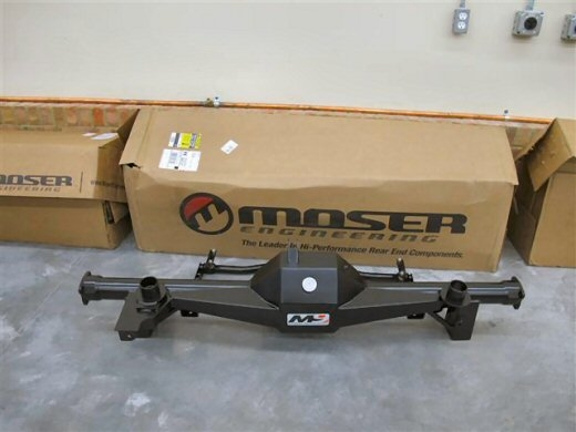 Moser M9 F Body Housing Torque Arm Package