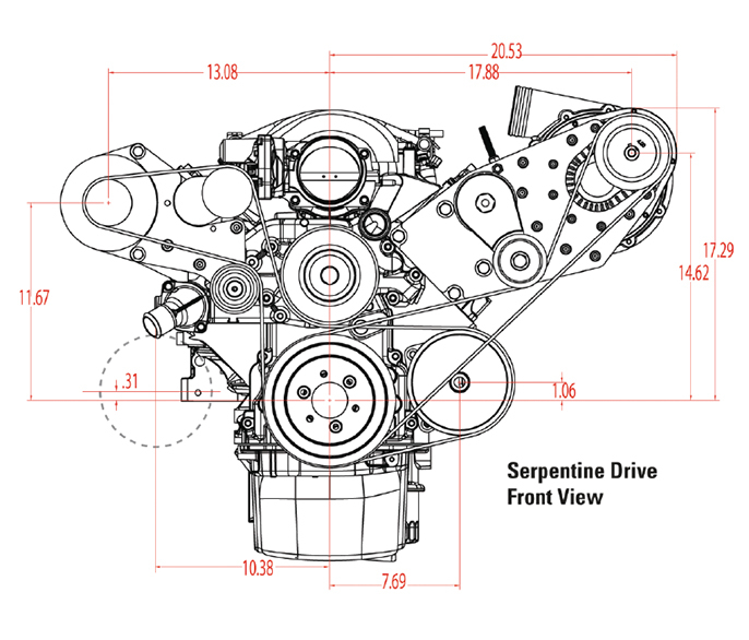 Roots Or Centrifugal Supercharger: ATI 1LS100-D1SC LSx Transplant HO D-1SC For EFI/Carb