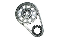 Manley 73236 LS-3 Timing Chain with aftermarket 3 bolt cam