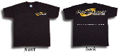 "ATI MASBYW-L T-Shirt Black with Yellow ""Racing"""