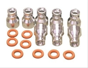 FAST 146025-KIT Fuel Injector Spacers, Alum, Chevy, 6.2, 7.0L