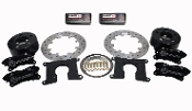 "Moser 6200-12755-B - Moser Performance Dual Caliper Dynamic Rear Drag Brake Kit - With Hawk ""BLACK"" Pads - Symmetrical/Lamb (2.81 Offset)"