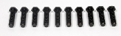 "Moser 8002 1/2"" - 20 x 2"" Screw-In Wheel Studs, Set of 10 Studs 2"" long 1/2"" - 20 x 2"" Screw-In Grade 8 Wheel Stud Right Hand Thread"