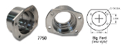 "Moser 7750 - Big Ford New Style/Torino Housing Ends. New forged, CNC machined housing ends for use with 9"" Big Ford New Style (Torino) backing plates & caliper brackets."