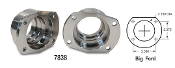 "Moser 7838 - New forged, CNC machined housing ends for use with 9"" Big Ford (Old Style) backing plates & caliper brackets."
