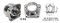 Moser 7900DB - Deep Bore Small GM Housing Ends (For Hobby Stock Axles & 45mm Bearings)