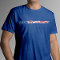 ATI MATS27 Royal Blue T-Shirt- USA Flag ProCharger