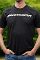 ATI MATS33-S Black Short Sleeve-White Text ProCharger Logo