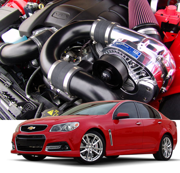S2000 Vortech Supercharger Hp: ProCharger 1GW212-SCI '14-'15 Chevy SS Kits