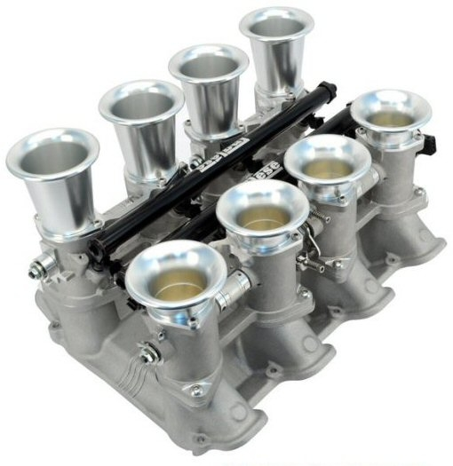 Inglese NG4090A EFI 8-Stack Intake Manifold and Throttle Bodies