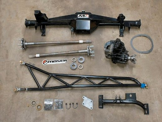 Moser M9 F Body Housing/Axle/Torque Arm Package