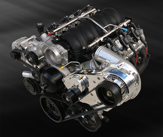 Supercharged Mustang Surging: ATI 1LS100-P1SC1 LSx Transplant HO P-1SC-1 For EFI/Carb